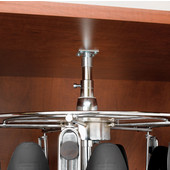 Rev-A-Shelf Men�s Additional Tier, Holds up to 4 Pairs, Chrome