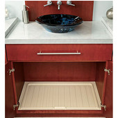 Rev-A-Shelf Vanity Drip Tray, Almond, Different Sizes Available