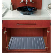 Rev-A-Shelf Vanity Drip Tray, Metallic Silver, Different Sizes Available
