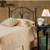 Milwaukee Collection Queen Headboard Bed Set with Rails in Antique Brown (Set Includes: Headboard and Rails)