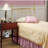 Chelsea Twin Headboard in Classic Brass (Includes Rails), 54''W x 63-1/2''D x 51-1/2''H