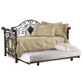Mercer Daybed w/Suspension Deck, Antique Brown, 82''W x 41''D x 49''H