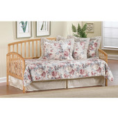 Carolina Daybed w/Suspension Deck and Roll-Out Trundle - Country Pine, Country Pine, 76''W x 39''D x 40''H