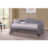 Jamie Daybed, Gray Fabric Finish