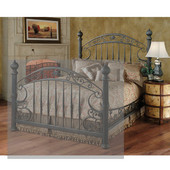 Chesapeake King Headboard in Rustic Old Brown (Includes Rails), 72-3/4''W x 3-1/4''D x 66-3/4''H