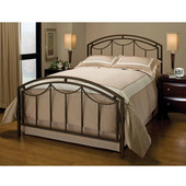 Arlington Collection Full Bed Set with Rails in Bronze (Set Includes: Headboard, Footboard and Rails)