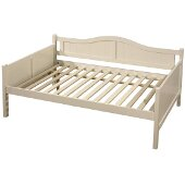 Staci Full Size Daybed in White Finish, 56-1/4'' W x 81-1/2'' D x 37'' H