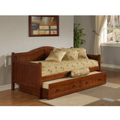 Staci Daybed w/Trundle, Cherry, 81-1/2''W x 41-1/2''D x 37''H
