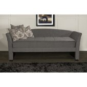 Montgomery Daybed in Medium Gray Fabric, 43-13/16'' W x 95'' D x 39-1/2'' H