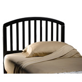 Carolina Black Full/Queen Bed Set w/out Footboard, Includes Headboard & 5-Leg Frame