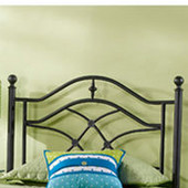 Cole Twin Headboard in Black Twinkle (Includes Rails), 40''W x 63-1/2''D x 52-1/2''H
