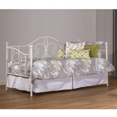Ruby Daybed with Suspension Deck, Textured White