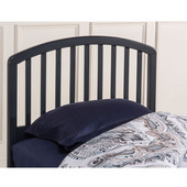 Full/Queen Carolina Headboard with Frame in Navy, 61-1/2'' W x 71-1/4'' D x 43-11/16'' H