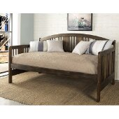 Dana Daybed in Brushed Acacia Finish, 44-1/2'' W x 79-1/2'' D x 38'' H