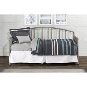 Brandi Daybed Metal Suspension Deck Included in Stone Finish, 32-1/4'' W x 82'' D x 40-1/4'' H
