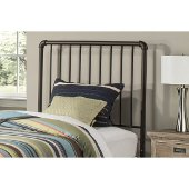 Brandi Twin Size Headboard with Headboard Frame Included in Oiled Bronze Finish, 40'' W x 65-1/2'' D x 50-1/4'' H