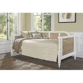 Melanie Daybed in White Finish, 42-1/4'' W x 82-1/2'' D x 35-7/8'' H