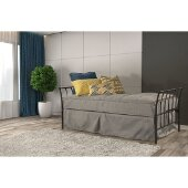 Midland Backless Daybed in Black Sparkle Finish, 32'' W x 79-7/8'' D x 39-3/4'' H
