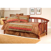 Dorchester Daybed w/Suspension Deck and Trundle - Brown Cherry, Brown Cherry