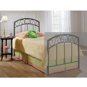 Wendell Full/Queen Headboard in Copper Pebble (Includes Rails), 62-3/4''W x 71-1/2''D x 46''H
