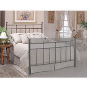 Providence King Headboard in Antique Bronze (Includes Rails), 77-5/8''W x 71-1/2''D x 51''H