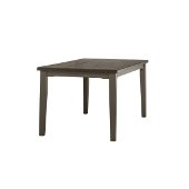 Clarion Rectangle Dining Table in Distressed Gray Base / Multi-Step Wirebrush Top, 60'' W x 36'' D x 30'' H