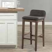 Renmark Counter Height Stool, Brushed Gray, 16-1/2''W x 18-1/4''D x 31-1/8''H