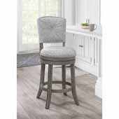Santa Clara II Swivel Counter Stool, Antique Gray, 22''W x 16''D x 41''H