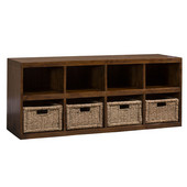 Hillsdale Tuscan Retreat ® Storage Cube with Baskets, 54''W x 16''D x 22''H