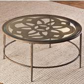 Marsala Coffee Table, Glass Finish, 36'' W x 36'' D x 18'' H