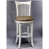 Bayberry Swivel Counter Stool, White
