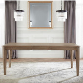 Savona Rectangle Dining Table in Vintage Gray, 62'' - 80'' W x 40'' D x 30'' H