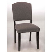 Emerson Parson Dining Chair, Set of 2, Black, 19-3/4''W x 19''D x 38-1/2''H