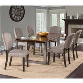 Emerson 7-Piece Rectangle Dining Table Set with Six (6) Chairs, Gray