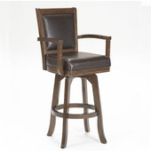 Ambassador Counter Stool, Rich Cherry & Brown Finish, 23'' W x 22'' D x 42-1/4'' H