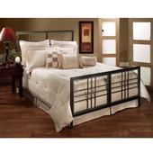 Tiburon Complete Queen Bed Set, Includes HB, FB & 6-leg Frame