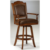 Hillsdale Nassau Swivel Game Bar Stool