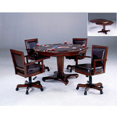 Hillsdale Ambassador Game Table with 4 Chairs