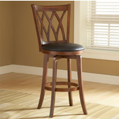 Mansfield Wood Swivel Counter Stool, Also Available in Bar Height
