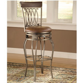 Hillsdale Montello Swivel Bar Stool - 32'' Seat Height