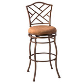 Hillsdale Hanover Swivel Bar Stool, 30'' Seat Height