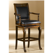 Hillsdale - Douglas Wood Bar Stool, Distressed Cherry