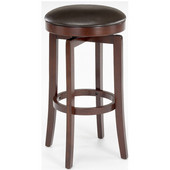 Hillsdale - Malone Backless Counter Stool, 17'' W x 17'' D x 25'' H, Cherry