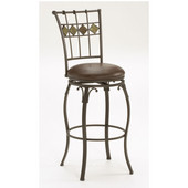Lakeview Swivel Counter Stool, Slate Accent