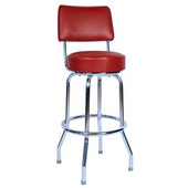 Richardson 30'' 50's Retro Revolving Counter Stool in Grade 3 Vinyl Finishes