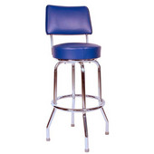 Richardson 30'' 50's Retro Revolving Counter Stool in Grade 4 Vinyl Finishes