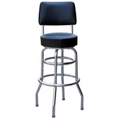 Richardson 30'' 1950's Style Revolving Counter Stool in Grade 10 Vinyl Finishes