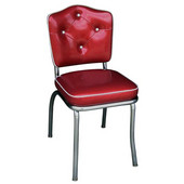 Richardson Crown Diner Chair with 2'' Thick Upholstered Seat, Grade 3