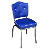 Richardson Crown Diner Chair with 2'' Thick Upholstered Seat, Grade 10