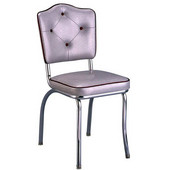 Richardson Crown Diner Chair with 2'' Thick Upholstered Seat, Grade 4